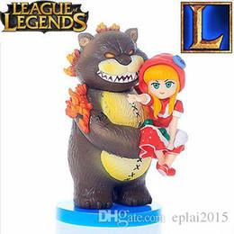 Wholesale LOL CUTE League of Legends Dark Child Annie Bear Model Action Figure Toy cm
