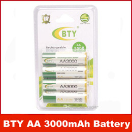 Wholesale Really BTY Brand High Perfomance Promotion V mAh Rechargeable AA Battery BTY Batteries