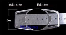 Wholesale Car styling headlight switch cover sticker for Ford focus kuga escape stainless steel auto accessories pc M22465