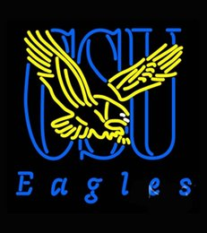 Wholesale Coppin State Eagles Alternate Real Neon Sign for Bar Real Glass Tube Handcraft Store display Custom LOGO Design x24