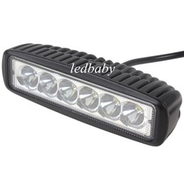 1550LM Mini 6 Inch 18W 6 x 3W CREE LED Bar work Light as Worklight   Flood Light   Spot Light for Boating   Hunting   Fishing