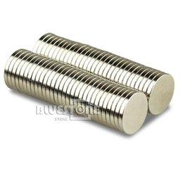 Aimant néodyme forte à vendre-100pcs Lot Super Strong Disc Round Cylindre 12 x 1.5mm Magnets Rare Earth néodyme Livraison gratuite