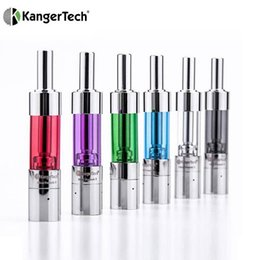 100% Original Kanger mini protank 3 atomizer kangertech 1.5ml dual coil pyrex glass mini protank3 clearomizer for ego evod battery