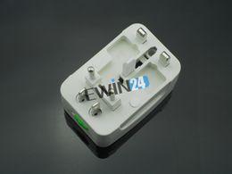 Worldwide Universal AC Power Inverter Socket Plug Multi Travel Adapter UK EU AU USA With Box
