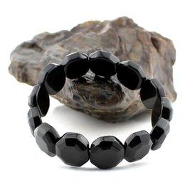 new naturalaaa crystal rainbow obsidian jewelry bracelet authentic black needle stone bracelets bagua gossip manual handrow bangles authentic black crystal