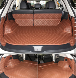 Wholesale Best quality Special car trunk mats for Nissan Murano wear resisting waterproof leather luggage mats for Murano