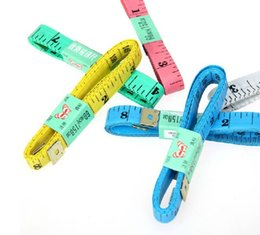 Wholesale New Measuring Gauging To Professio Tailoring Tape Measure Sewing Retractable Tape superior quality Tailoring Tape Measures gift ZJ T08