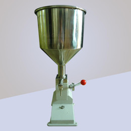 Wholesale Manual Cream Paste Liquid Filler oil filling machine Equipment