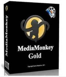 Wholesale Freeshipping MediaMonkey Gold v4 music software The Media Manager for Serious Collectors