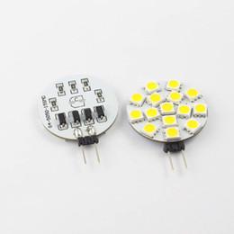 Wholesale 15pcs smd5050 g4 base led light bulbs DC12V DC10 V under cabinet RV boat and landscaping g4 led lights
