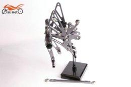 Wholesale KELI FUXING Racing CNC Adjustable Rearsets Rear set footpegs For Yamaha YZF R1 R1000 Titanium M53011