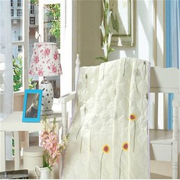 Wholesale-2016NEW! Summer home Quilt printed cartoon thin comforter , filled synthetic fibers,twin150*200cm,queen180*220cm,king200*230cm