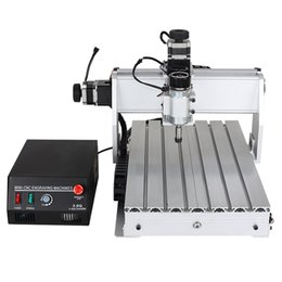 High accuracy CNC 3040Z-DQ 3 axis Router Wood Engraving Machine Engraver with limit switch with 1204 ball screw (with auto-checking tool)
