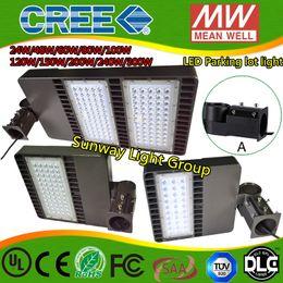 Wholesale 2016 LED parking lights shoe box lamp parking area lamp flood lights Street Lights w w w w w w w ac90 v