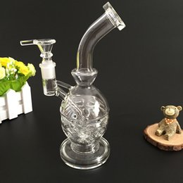 new 2016 Glass Faberge Egg water pipes glass with 14.5mm Quartz glass bowl recycler oil rigs