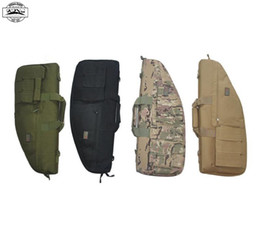 Wholesale-Top quality 70cm Nylon Rifle bag Gun Bag Tactical Gun bags for Outdoor War Game Activities Rifle gun bag