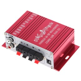 Wholesale cheapest price Handover Hi Fi V Car Stereo Amplifier Support Audio Player CD DVD MP3 Input CEC_800