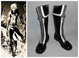 Wholesale 2015 Special Offer Platforms Ankle Sapatos Femininos Boots D Gray man Allen Walker New Version Cosplay Costume Boot Shoes Shoe