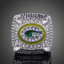 Wholesale The green bay packers Aaron Rodgers NFL super championship ring fans collection
