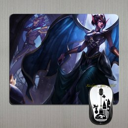 Wholesale One Piece LoL Series Victorious Morgana Fallen Angel Game Gaming Art Rubber Silicon Anti slip Mousepad PC Computer Mouse Pad Mat