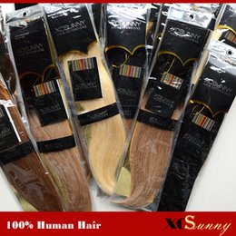XCSUNNY 6A Ombre Malaysian Virgin Hair Tape In Hair Extension 40pcs Skin Weft Hair Extensions 100g Human Tape Extensions