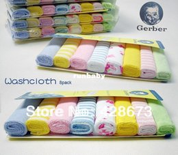 Wholesale HOT sale YE Gerber towel baby wash cloth infant towel baby feeding towel handkerchief