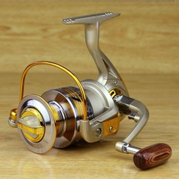 Wholesale 10 BB Spool Aluminum Spinning Fly Fishing Reel Bait Casting EF1000 Saltwater Okuma Metal Front Drag Molinete Pesca YL0001