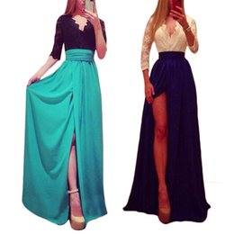 Wholesale S5Q Women Bandage Bodycon Gown Ball Party Cocktail Slim Evening Sexy Prom Dress AAAEHJ
