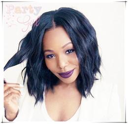 18 black hair en Ligne-Perruques courtes de cheveux humains pour les femmes noires