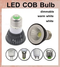 COB led lights dimmable led lighting bulbs led bulb housing globe dome led work lamp light led spotlight e27 e14 gu10 mr16 gu5.3 base DB004