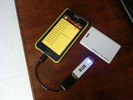 EM4100 portable proximity ID reader 125khz mini usb rfid reader for iPad Android Mac Windows Linux