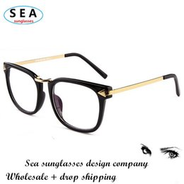 Vintage Arrow metal spectacle Frame Glasses oculos de sol original clear lens square eye women eyeglasses men sunglasses s0190