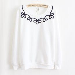 FG1509 2015 New Women Brand Cute Cotton Floral Printed Women Hoodies Sweatshirt Cardigans Tracksuits Pullover Plus Size Sweatshirt