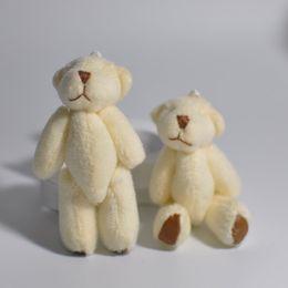 Bluk 7.5CM teddy bear mini stuffed animals cute Bear toy for the children Bouquet jewellery accessory gift Mini Urso De Pelucia Oso