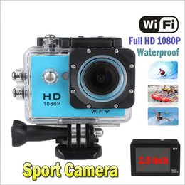 Wholesale SJ6000 SJ WIFI Mini Camcorder Sport Action Video Camera inch FHD P Car Recorder M Waterproof Degree Angle New Arrival JBD W9