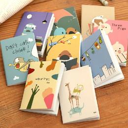 New Arrival Hot Sale Cartoon Little Notebook Handy Notepad Paper Notebook Journal Diary Drop Shipping OSS-0010