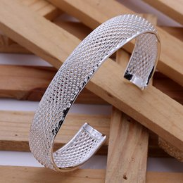 Free Shipping Top Sale Top Quality Hot Sales Brand New Very Popular 925 Style Sterling Fashion Hollow Net Bracelet 1300