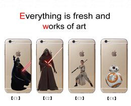 Wholesale PC TPU Phone Back Cover Star Wars Cute Mobile Phone Cases Best Cell Phone Cases for Iphone S Splus