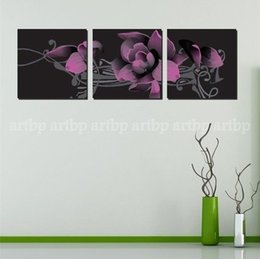 Wholesale Ell Flower Modern Wall Painting Till Life Home Decorative Arte Oil Painting Home Decor Wall Picture Huge Picture Painting