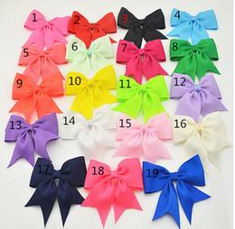NEW 2015 about 9.5cm*8.5cm.high quality grosgrain ribbon hair bows,children hair accessories,baby girl hair bows WITH CLIP,38pcs
