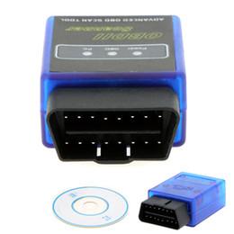 Wholesale Super Mini V2 ELM327 OBD II Bluetooth Protocols Universal Auto Diagnostic Scanner Tool Car Scan Tester
