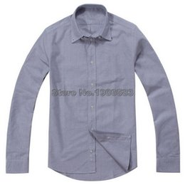 Wholesale-High quality Colorful Small horse customs fit oxford man long dress shirts aaa degree casual business brand classic shirts