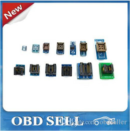 Wholesale 2015 v6 TL866CS programmer adapters IC clip High speed TL866 AVR PIC Bios MCU Flash EPROM Programmer