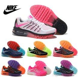 Discount Shoes Run Air Max Nike Women's FLYKNIT Air Max 2015 Running Shoes 100% Original Womens running shoes Cheap FLYKNIT Best Tennis Jogging Shoes Free Shipping