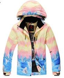 Wholesale-Free Shipping Winter Waterproof Skiing Women Jacket Ski Snowboard Sport Wear Snow Clothes Women Jacket