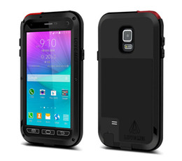 Wholesale LOVE MEI Powerfull Drop resistance Corning gorilla glass Aluminum Metal Armor case for Samsung Galaxy Note N9100