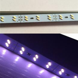 Wholesale High bright IMport Chip SMD double row LED cm DC V Hard Led Bar Lights W lumen Led Rigid light Strips Warm Pure Cool White