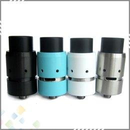 Wholesale Vapor Velocity RDA Clone Rebuidable Atomizer mm Diameter Unique DIY Base Design Thread Copper Contact Velocity DHL Free