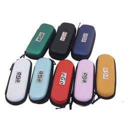 2017 porter coloré Colorful E Ciga EGO Etui Housse Etui Etui Etui Portable Ego Etui Etui pour E Cig Kits Cigarette Electronique Taille S M L porter coloré sortie