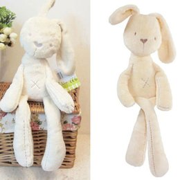 Wholesale S Baby Kids Girls Gift Rabbit Bunny Sleeping Stuffed Plush Dolls Toys Bed Decorat